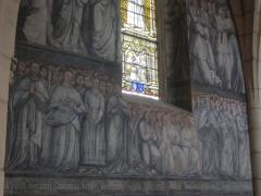 Eglise -  Fresques de l'église de Chambolles-Musigny, Bourgogne, France.