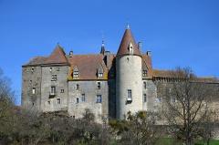 Château de Châteauneuf, actuellement musée - Château de Chateauneuf, Côte d'Or, Bourgogne, France