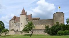 Château de Châteauneuf, actuellement musée - Château de Châteauneuf , Côte-d'Or, Bourgogne, France