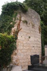 Château des ducs de Bourgogne (ruines) -  Churchyard