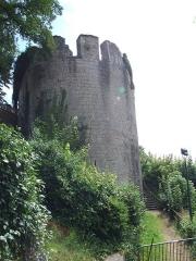 Château des ducs de Bourgogne (ruines) - Français:   Vestiges du Château, Châtillon-sur-Seine, Côte-d\'Or, Bourgogne, FRANCE