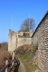 Château des ducs de Bourgogne (ruines) - Français:   Châtillon-sur-Seine, Côte-d\'Or, Bourgogne, France