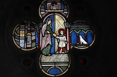 Eglise Saint-Vorles - Deutsch: Katholische Kirche St-Vorles in Châtillon-sur-Seine im Département Côte-d'Or (Bourgogne-Franche-Comté/Frankreich), Bleiglasfenster