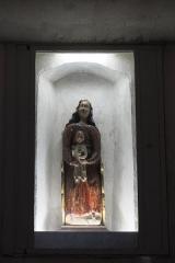 Eglise Saint-Vorles - Deutsch: Katholische Kirche St-Vorles in Châtillon-sur-Seine im Département Côte-d'Or (Bourgogne-Franche-Comté/Frankreich), Madonna mit Kind