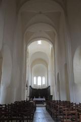 Eglise Saint-Vorles - Deutsch: Katholische Kirche St-Vorles in Châtillon-sur-Seine im Département Côte-d'Or (Bourgogne-Franche-Comté/Frankreich), Innenraum