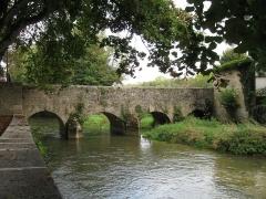 Pont, dit Pont des Boulangers - Français:   Pont des Boulangers ou pont des Grandes Grilles ou des Tourniquets