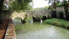 Pont, dit Pont des Boulangers - Français:   Pont des Grilles à Châtillon-sur-Seine