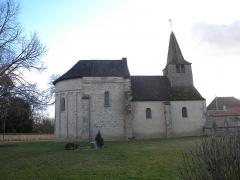 Eglise - Esperanto: Preĝejo de Combertault (Côte-d'or)