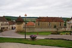 Château de Commarin - Le château de Commarin, communes
