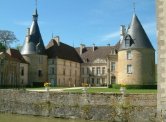 Château de Commarin - English: Castle of Commarin, Commarin, Côte-d'Or, Burgundy, France