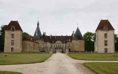 Château de Commarin - Le château de Commarin, Logis