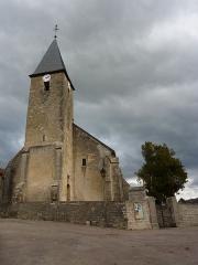 Eglise - English: Catholic church of Darcey, Côte d'Or, France