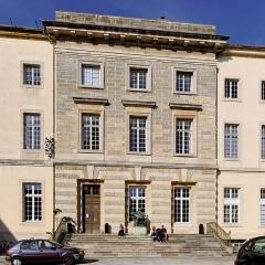 Ancienne abbaye Saint-Bénigne - Français:   Palais abbatial Saint Bénigne, Actuelle École Nationale Supérieure d\'Art de Dijon, (Côte d\'Or, Bourgogne, France).