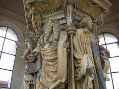 Ancienne chartreuse de Champmol, actuellement centre psychothérapique de Dijon -  Claus Sluter, Puits de Moise, Dijon