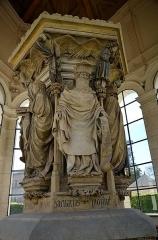 Ancienne chartreuse de Champmol, actuellement centre psychothérapique de Dijon - Puits de Moïse XIVem siècle à Dijon