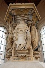 Ancienne chartreuse de Champmol, actuellement centre psychothérapique de Dijon - English: Well of Moses, Champmol, Dijon, France