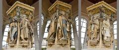 Ancienne chartreuse de Champmol, actuellement centre psychothérapique de Dijon - Nederlands: Claus Sluter (1350-1406) Mozesput Champmol Dijon