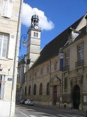 Collège des jésuites des Godrans - Ancien collège des Jésuites, actuellement bibliothèque municipale de Dijon