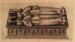 Couvent des Cordeliers - Čeština: Náhrobek Johany Savojské a Blanky Burgundské v Dijonu