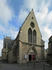 Eglise Saint-Jean -  Église Saint-Jean de Dijon, (Théâtre du parvis Saint-Jean)