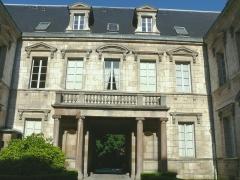 Hôtel des Barres - Français:   Dijon - Hôtel des Barres - Façade sur cour du corps principal
