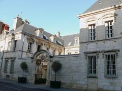 Hôtel des Barres - Français:   Dijon - Hôtel des Barres- Vu de la rue Chabot-Charny, numéro 43