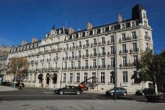 Hôtel de la Cloche - Français:   Vue de Dijon.