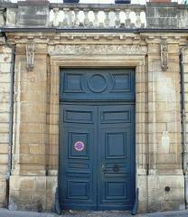 Hôtel Fevret de Saint-Mesmin - Français:   Dijon - Hôtel Févret de Saint-Mesmin - Portail