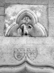 Ancien hôtel de Rochefort ou hôtel Morel-Sauvegrain - English: Dijon, Burgundy, France