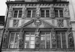Maison dite des Cariatides ou Maison Pouffier - English: Dijon, Burgundy, France