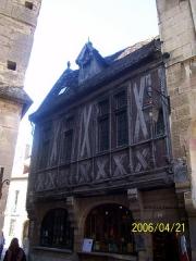 Maison dite Maison Millière -  Maison Millière, rue de la Chouette à Dijon.