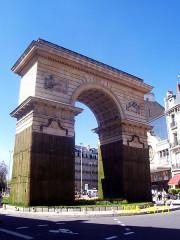 Porte Guillaume -  Porte Guillaume, place Darcy, Dijon