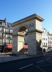 Porte Guillaume - English: The Porte Guillaume in Dijon.
