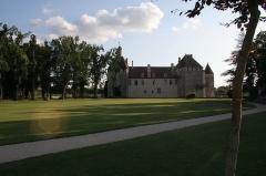Château - Le Château d'Epoisses et son parc