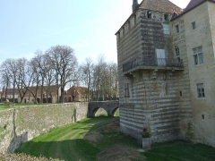 Château - English: Epoisses castle,  Burgundy, FRANCE