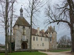 Château - L'entrée du Château d'Époisses.