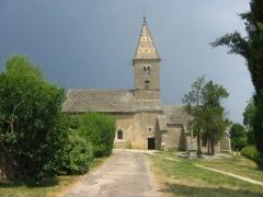 Chapelle de Fixey -  Eglise du hameau de Fixey, près de Fixin, Bourgogne, France.