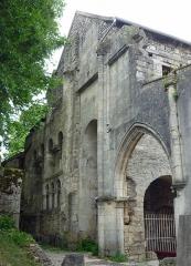 Ancienne abbatiale Saint-Pierre de Flavigny - Deutsch: Reste der ehemaligen Abtei St-Pierre in Flavigny-sur-Ozerain
