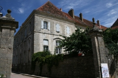 Ancienne abbatiale Saint-Pierre de Flavigny -  Façade Abbaye Flavigny sur Ozerain