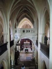 Eglise Saint-Genest -  Bourgogne Flavigny Saint-Genest Tribune Centrale 15072009