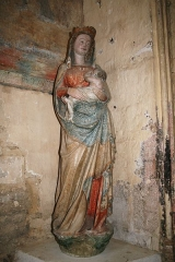 Eglise Saint-Genest -  Flavigny sur Ozerain Eglise Saint Genest Vierge