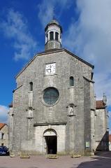 Eglise Saint-Genest -  L'église Saint-Genest, édifiée au XIIe siècle,et remaniée aux XVe et XVIe siècles. The Saint-Genest church, built in the twelfth century and rebuilt in the fifteenth and sixteenth centuries.