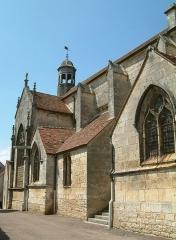 Eglise Saint-Genest - English: Saint-Genest church, Flavigny-sur-Ozerain, Bourgogne, FRANCE
