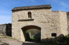 Portes de la ville - Deutsch: Porte de la Cote d'Or in Flavigny-sur-Ozerain.