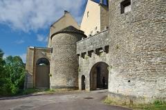 Portes de la ville -  Porte Nord-ouest (Porte du val).  Northwest Door.