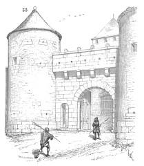 Portes de la ville -