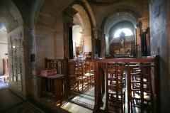Couvent et Basilique Saint-Bernard - Intérieur du château de l'église Saint Bernard, Fontaine-lès-Dijon, France.