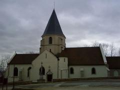 Eglise Saint-Bernard -  église de Fontaine-lès-Dijon, vue côté Nord.