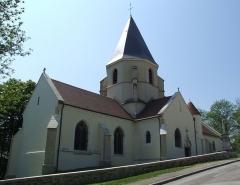Eglise Saint-Bernard - Église Saint-Bernard, Fontaine-lès-Dijon, Côte-d'Or, Bourgogne,FRANCE
