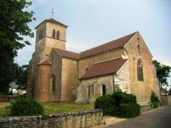 Eglise -  église de Gevrey_Chambertin, Bourgogne, France.